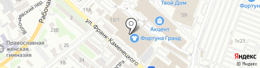 Mani на карте Иркутска