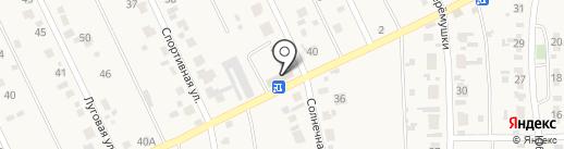 Универсальный на карте Карлука