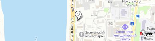 СПЕКТР на карте Иркутска