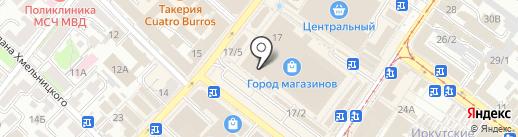 Леди на карте Иркутска
