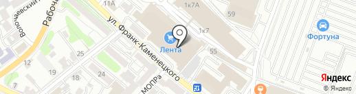 Магазин постельных принадлежностей на карте Иркутска