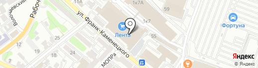 Магазин женской обуви на карте Иркутска