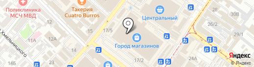 Салон обуви на карте Иркутска