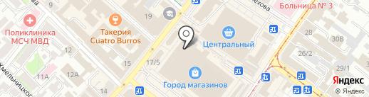 Dalat на карте Иркутска