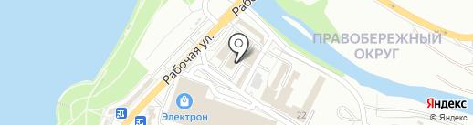 тЕатр на карте Иркутска