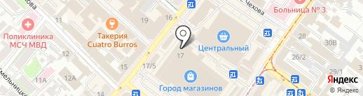 Банкомат, Бинбанк, ПАО на карте Иркутска