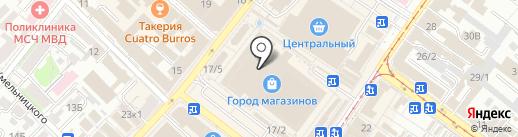 М.А.Р.К. на карте Иркутска