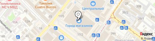 La vittoria на карте Иркутска