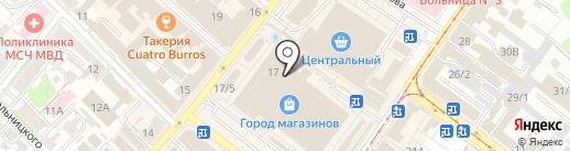 Салон женской обуви на карте Иркутска