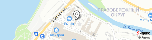 Иркутский хлеб, ЗАО на карте Иркутска