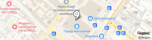 SG shoes на карте Иркутска