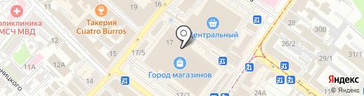Мадам на карте Иркутска