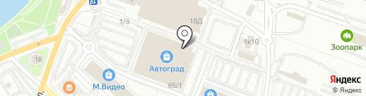 Автомагнитолы на карте Иркутска