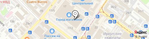 Veranda на карте Иркутска