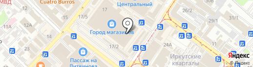 Мастерская по ремонту одежды на карте Иркутска