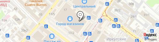 Vogue на карте Иркутска