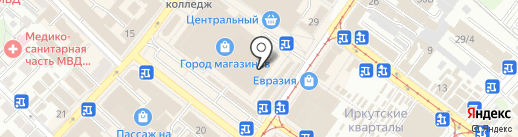 BONA FIDE Иркутск на карте Иркутска