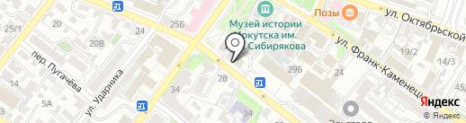 Твой Курьер на карте Иркутска