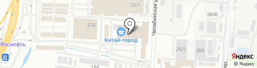 Канцэконом на карте Иркутска