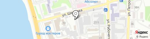 Техномет на карте Иркутска
