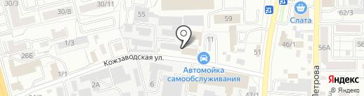 Люкс Климат на карте Иркутска