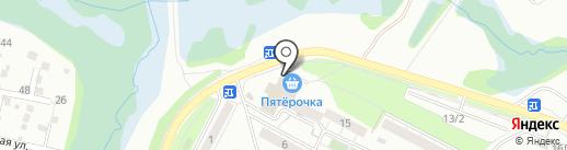 Игла на карте Иркутска