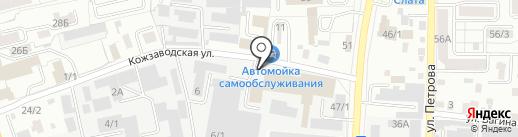 Триумф на карте Иркутска
