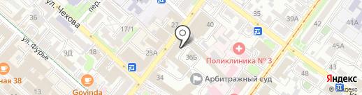 Максима Плюс на карте Иркутска