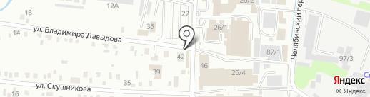 МАЛИНКИ на карте Иркутска