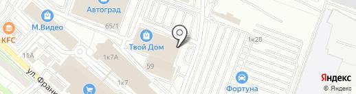 Магазин запчастей для бытовой техники на карте Иркутска