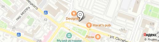 ЛадисХоум на карте Иркутска