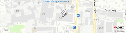 Альта+ на карте Иркутска