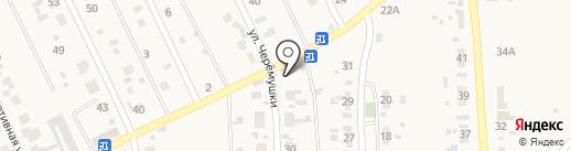 Авоська на карте Карлука