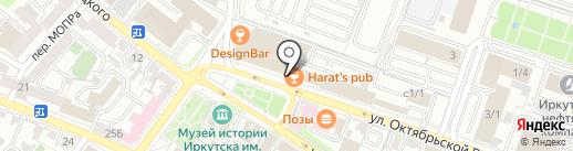 Банкомат, КБ Солидарность на карте Иркутска