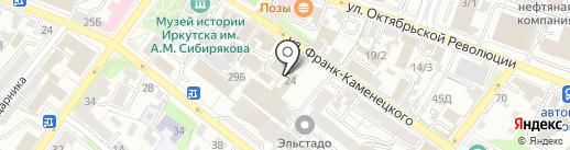 Престиж-Сервис на карте Иркутска