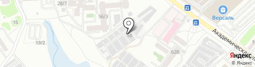 Auto138 на карте Иркутска
