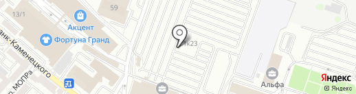 Тандырчик на карте Иркутска