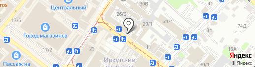 Соотечественник на карте Иркутска