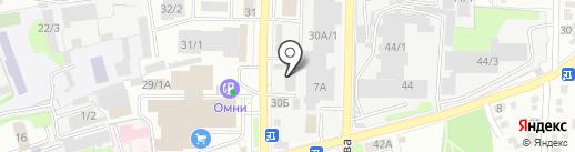 Queen на карте Иркутска