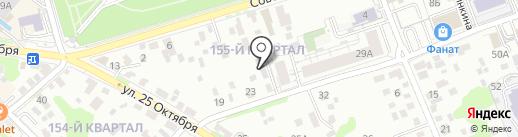 Сибинжстрой на карте Иркутска