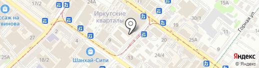 Телеком-Сервис на карте Иркутска