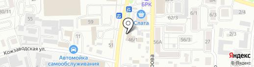 Uni-Dev на карте Иркутска