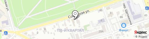 Эталвес на карте Иркутска