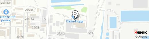 ЛИТОКОЛ на карте Иркутска