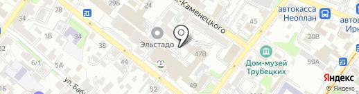 Russtudio88 на карте Иркутска