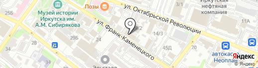 Malliz на карте Иркутска
