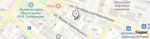 Irkagenta.net на карте Иркутска
