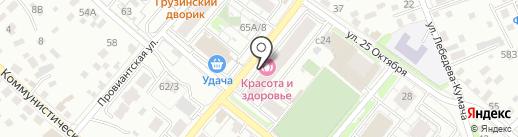 Альфа-сервис на карте Иркутска