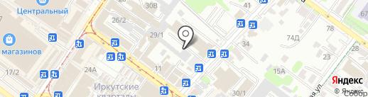 Парфюмерия-центр на карте Иркутска