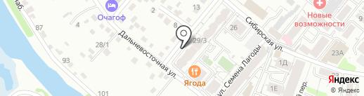 Экспрессия SPA на карте Иркутска